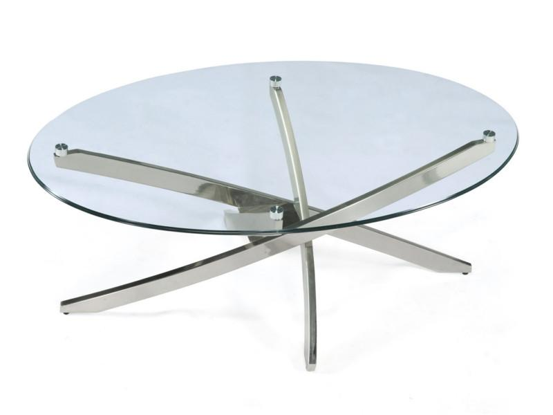 Zila Oval Cocktail Table - MJM Furniture