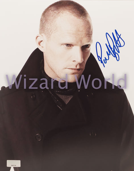 Avengers Paul Bettany Signed Photo -- Headshot