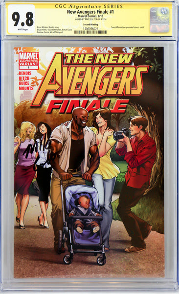 New Avengers Finale Signed by Mike Colter