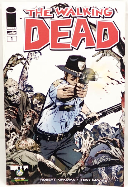 The Walking Dead, signed comic book by Michael Golden