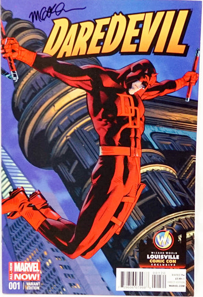 Daredevil, signed comic book by Michael Golden