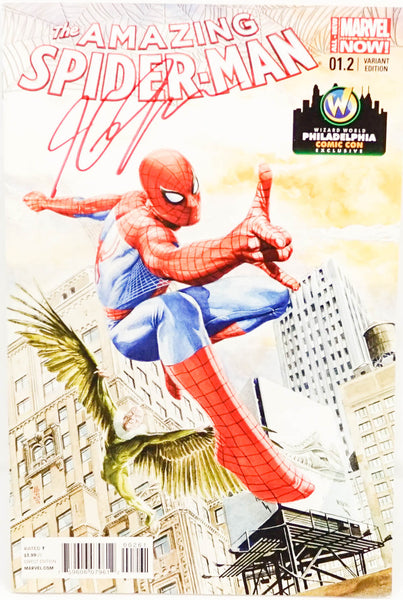 Spiderman, signed comic book by JG Jones