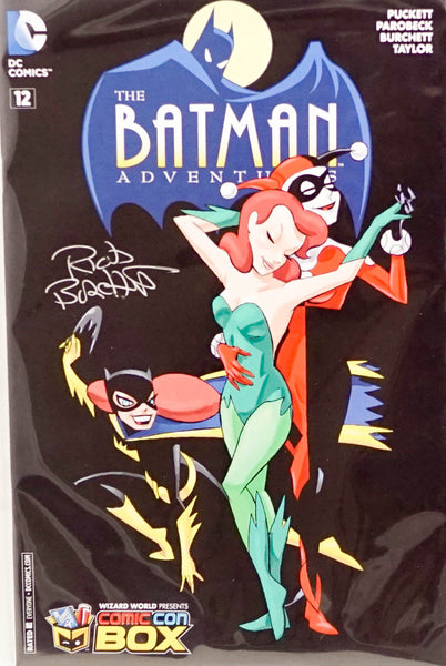 Batman Adventures: #12, signed comic book by Rick Burchett