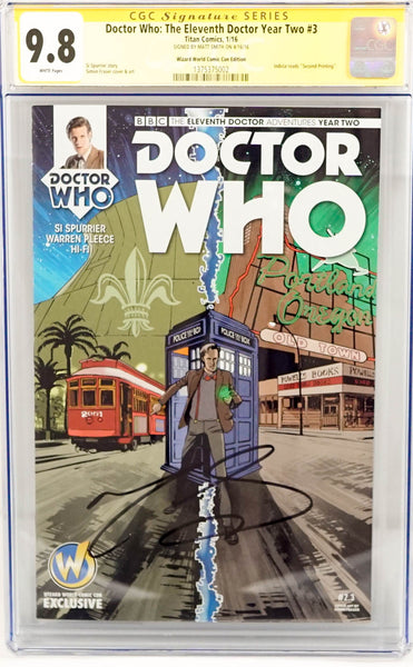 Dr. Who, signed cgc comic book by David Tennant