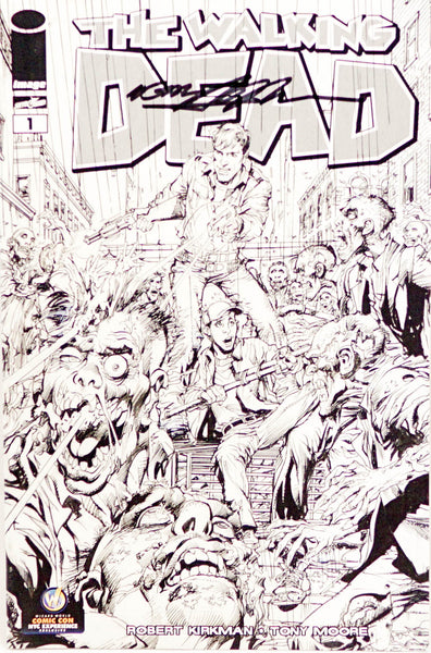 The Walking Dead, signed comic book by Neal Adams