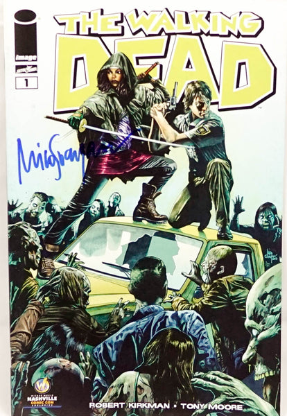 The Walking Dead #1 Comic Book Signed by Mico Suayan