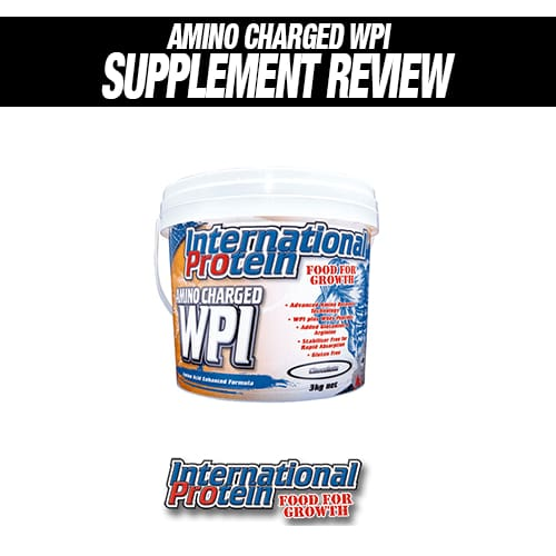 International Protein Amino Charged WPI Review