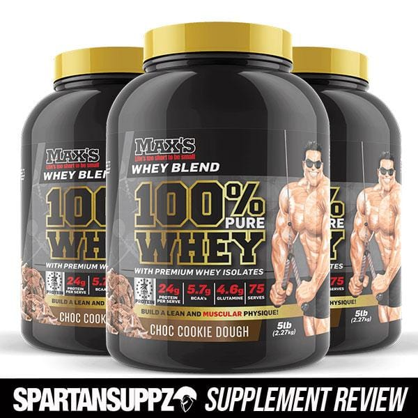 Maxs 100% Pure Whey Review