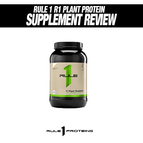 Rule 1 R1 Plant Protein Review