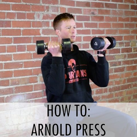 how to arnold press
