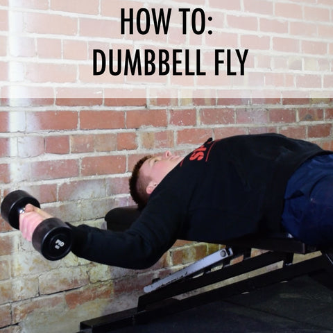 how to dumbbell fly