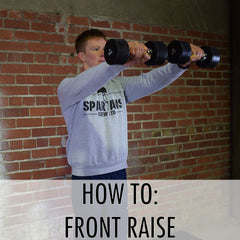 how to front raise