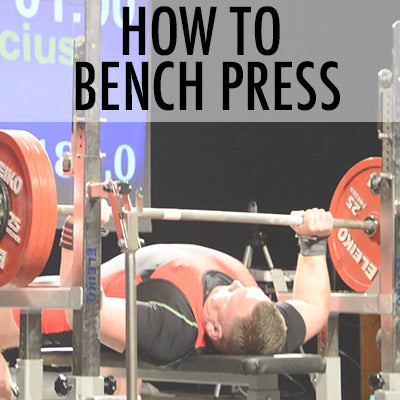 HOW TO BENC PRESS