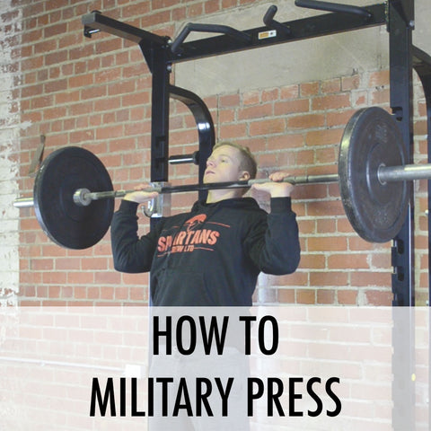 How to military press