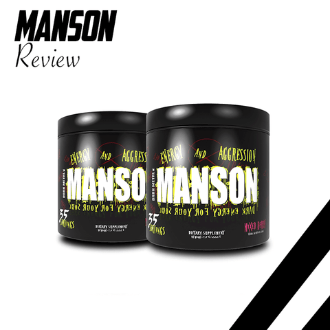 Manson - Review - Insane Labz - Dark Metal - Spartansuppz
