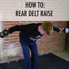 how to rear delt raise