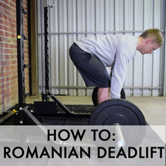 how to romanian deadlift