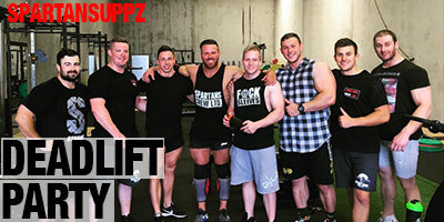 Spartansuppz Deadlift Party