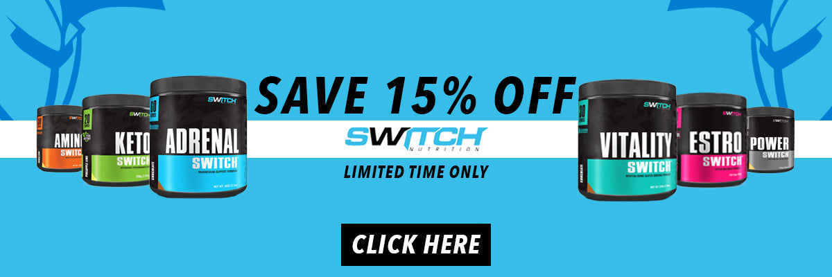 Switch Nutrition 15% Off