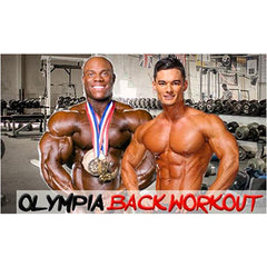 olympia back workout