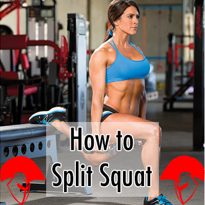 how to split squat