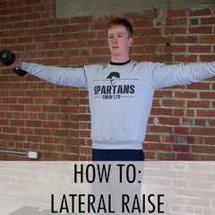 how to lateral raise