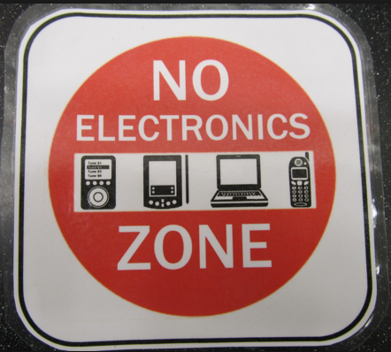 No Electronic Zone