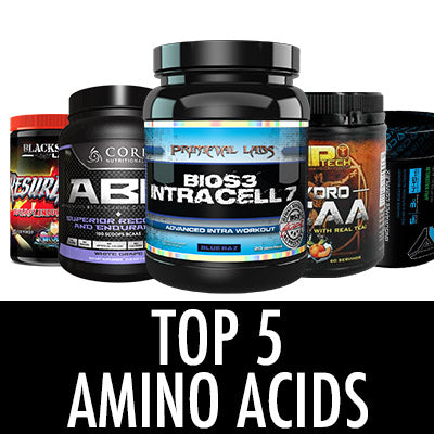 Top 5 Amino Acids 2016