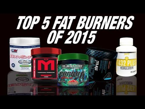 Top 5 Fat Burners 2015