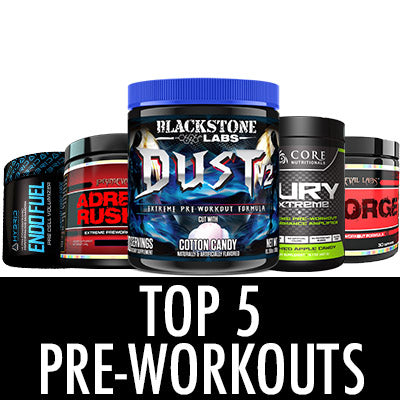 Top 5 Pre-Workouts 2016