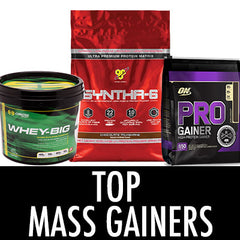 Top Mass Gainers 2016
