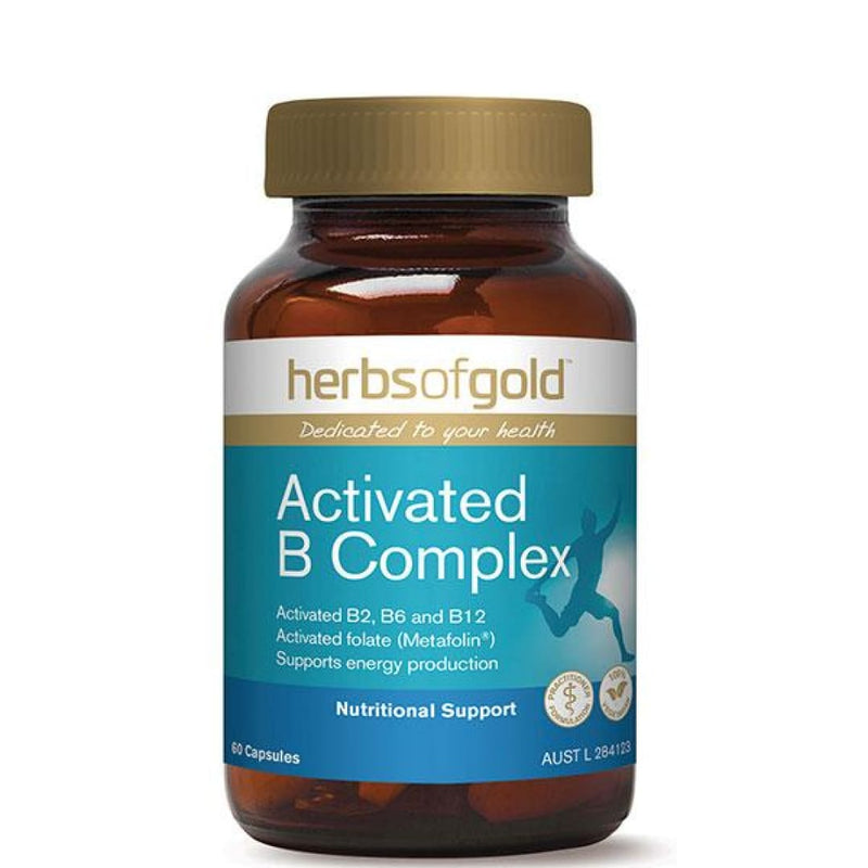 Activated B Complex by Herbs Of Gold - Spartansuppz