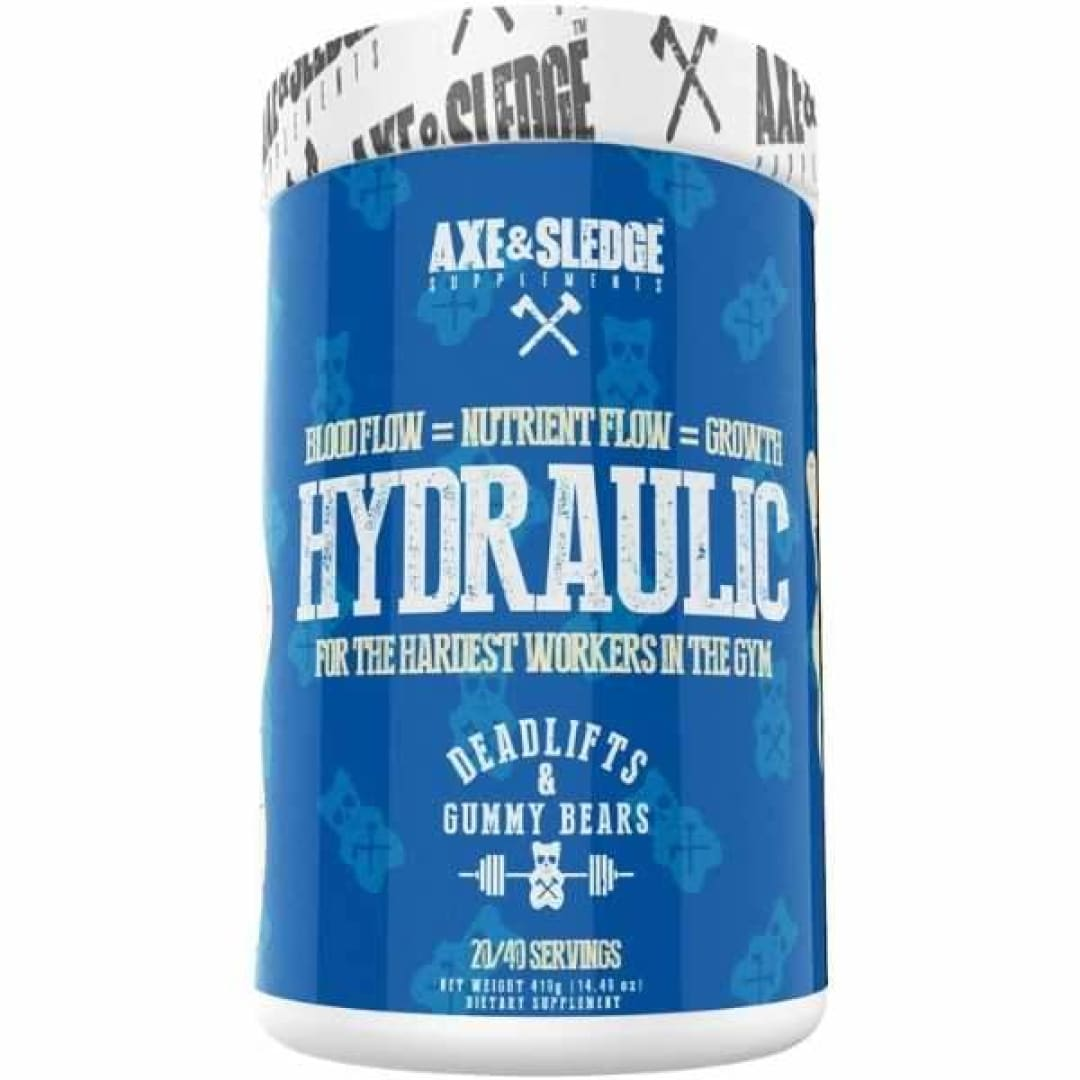 Hydraulic by Axe and Sledge 40 Serves / Deadlifts + Gummy Bears