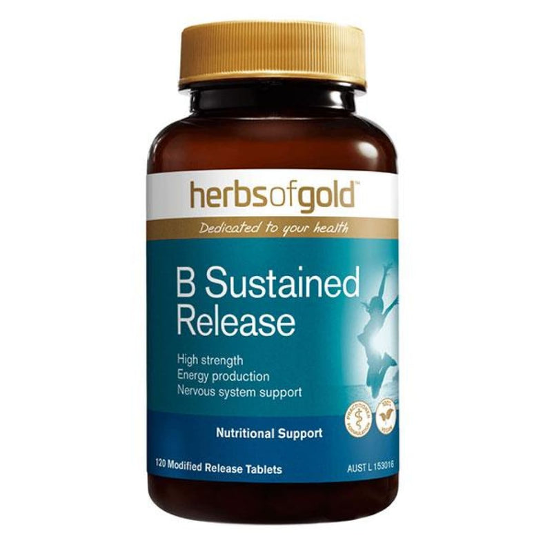 B Sustained Release by Herbs Of Gold - Spartansuppz