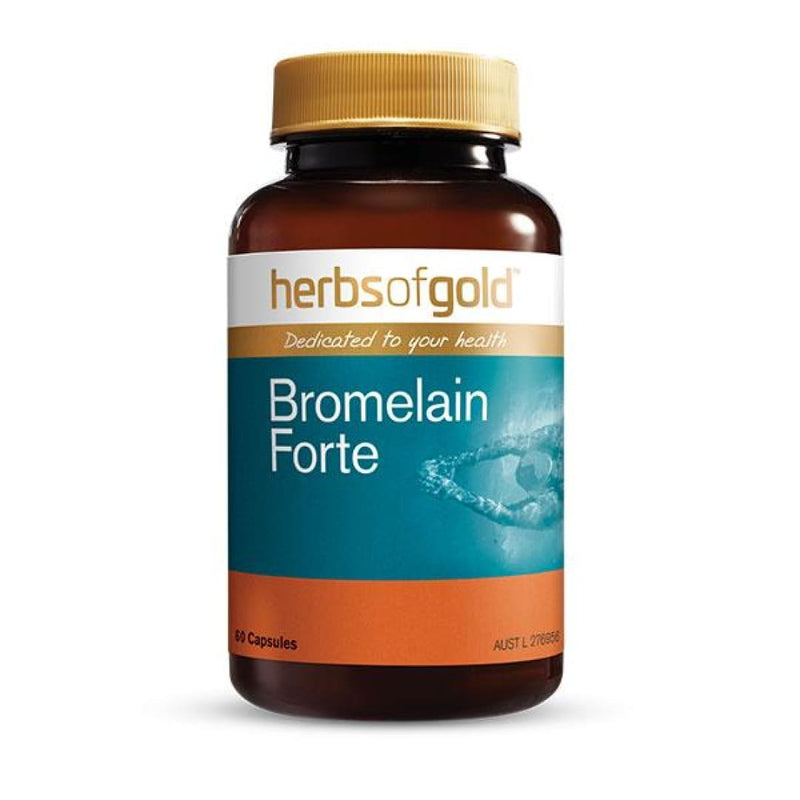 Bromelain Forte by Herbs Of Gold - Spartansuppz