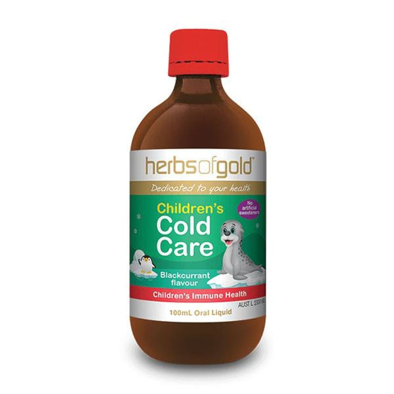 Childrens Cold Care by Herbs Of Gold - Spartansuppz