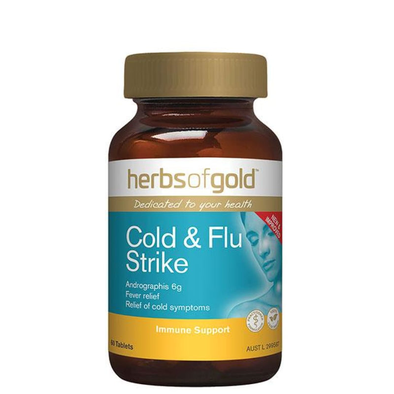 Cold & Flu Strike by Herbs Of Gold - Spartansuppz