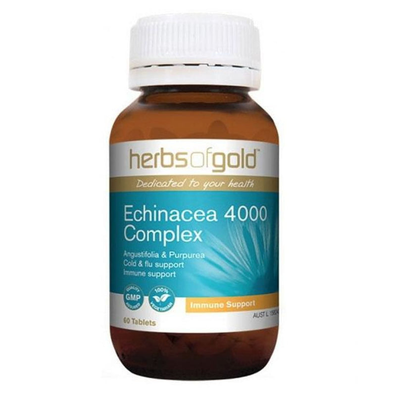 Echinacea 4000 Complex by Herbs Of Gold - Spartansuppz