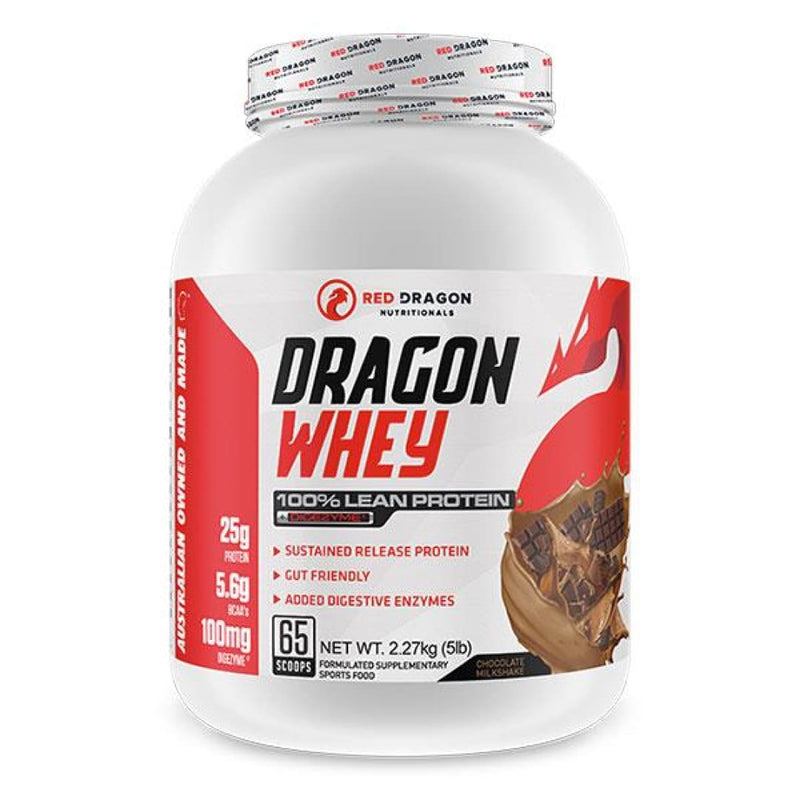 Red Dragon Nutritionals Dragon Whey 5lb Chocolate