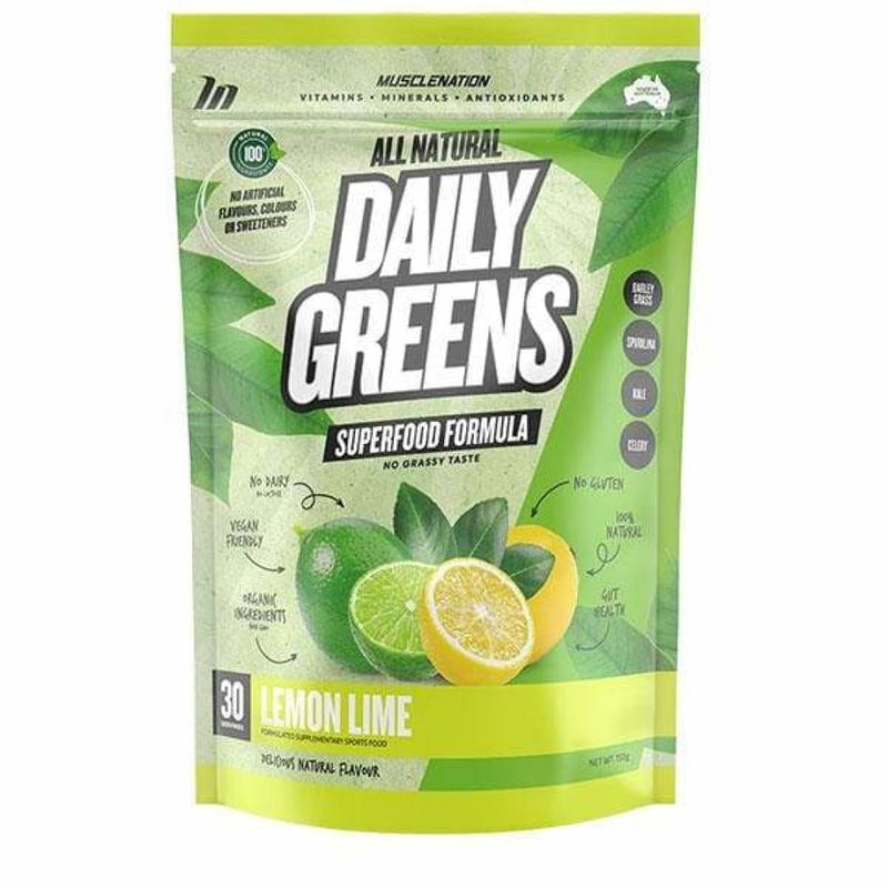 All Natural Daily Greens by Muscle Nation - Spartansuppz