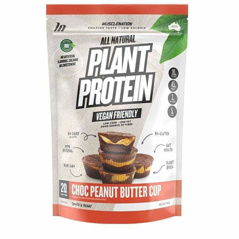 All Natural Plant Protein by Muscle Nation - Spartansuppz