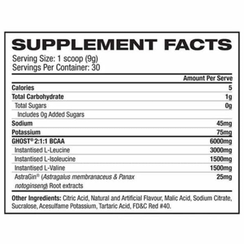 Ghost BCAA - Spartansuppz