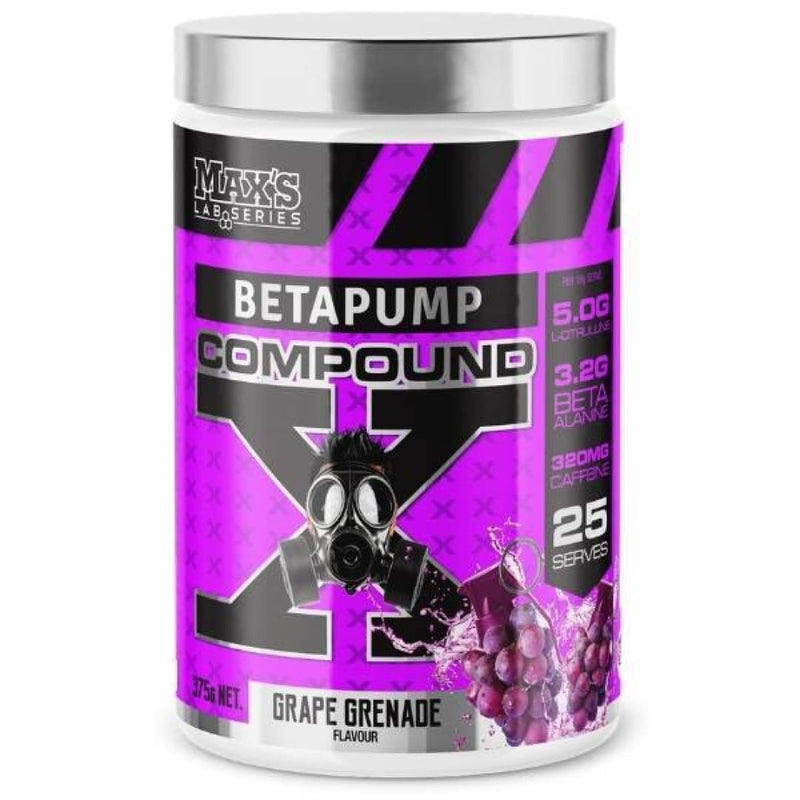 Betapump Compound X by Maxs
