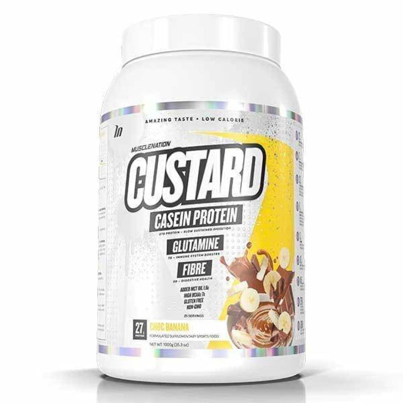 Muscle Nation Custard Casein - Spartansuppz