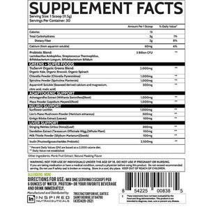 Greens by Inspired Nutraceuticals | Greens & Fruit Supplements | Spartansuppz - Spartansuppz