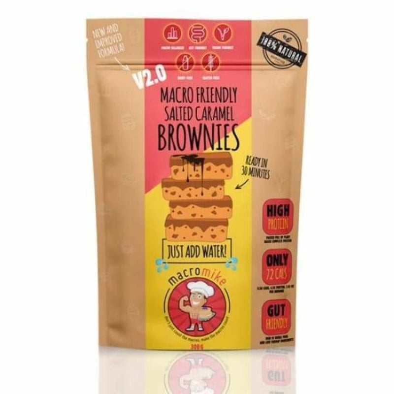 Macro Friendly Brownies by Macro Mike | Protein Bars & Snacks | Spartansuppz - Spartansuppz