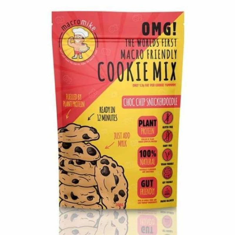 Macro Friendly Cookie Mix by Macro Mike | Protein Bars & Snacks | Spartansuppz - Spartansuppz