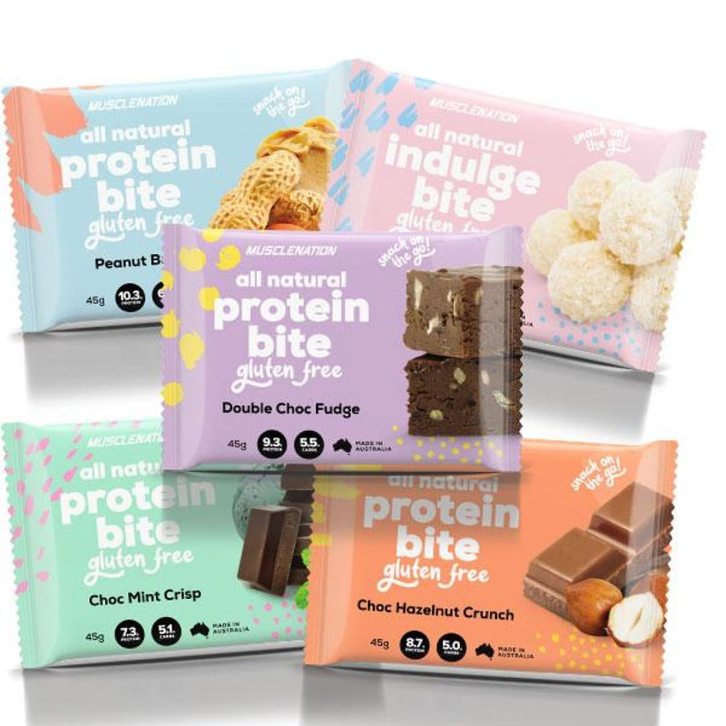 Musclenation All Natural Protein Bites