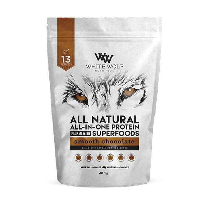Natural All-In-One Whey Protein by White Wolf Nutrition