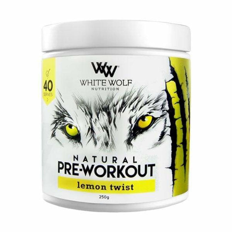 Natural Pre Workout by White Wolf Nutrition